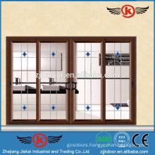 JK-AW9110 nice style clear glass sliding glass door quality door locks