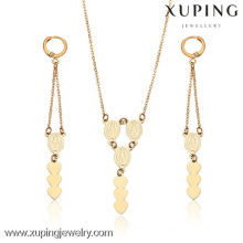 62808- Xuping Jesus jewellry brass religion sets online