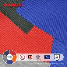 tecido não inflamável de algodão e nylon para vestuário de trabalho