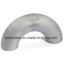 Coude en tuyaux en acier inoxydable Ss en acier inoxydable 180 degrés