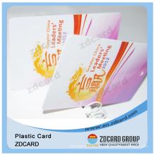 Пластиковая карточка ПВХ стикер hologram