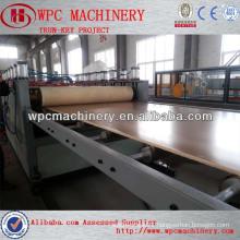 PVC WPC skinning foam board machine pvc free foam board extrusion machine