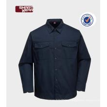 Construction Worker Industrial Tc cotton workwear shirt