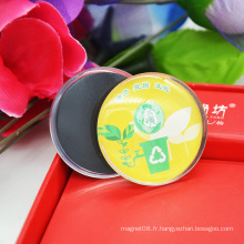 Vente en gros Décoration Cadeau Custom Glass 3D Fridge Magnet