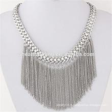 Pendentif en boudin bohème brillant perle perlée collier ethnique turc