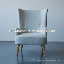 French style Soild wooden arm chair/arm sofa chair XYD251