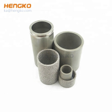HENGKO Sintered Filter Filter Cylinder Stainless Steel Air Filtering Ordinary Product 0.2um-120um 3 Months ISO9001:2015 Provided
