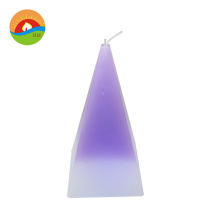 Custom christmas tree candle color changing paraffin wax home decoration led candle