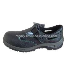 Sandale Type Split cuir chaussures de sécurité (HQ01008)