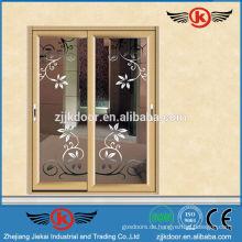 JK-AW9123 Aluminium schöne Farbe Interieur matt Glas Innentür
