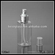 Площадь 120 мл recyclable косметические формы тонкий туман брызг производителей пластиковой бутылки любимчика