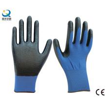 U3 Polyester Liner Nitrile Coated Safety Work Gloves (N6026)
