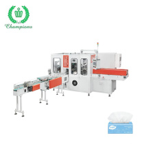 High Speed Facial Tissue Soft Single Bag Wrapping Machine