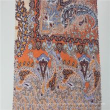 Custom design moroccan 100% cotton woven voile fabric