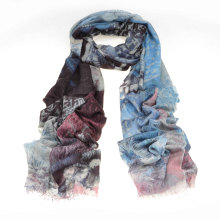 2014 New Fashion 100%Water Soluble Cashmere Scarf