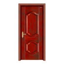 Puerta de madera de acero interior