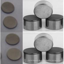 Carboneto de tungstênio para substratos não padronizados com formato e tamanho personalizados