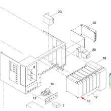 Pilote de moteur Panasonic SMT pour la machine d'impression d'écran Sp60p-M (N510005919AA)