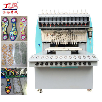 High Output Plastic Shoe Sole Maker Equipment