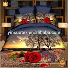 quiet Scenery bedding set ,polyester bedding set