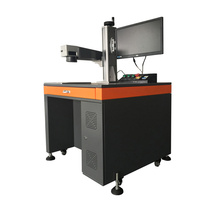 Quality assurance mini fiber security seals laser marking machine for plastic