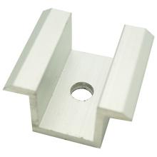 Abrazadera de aluminio del panel solar de alta calidad del mediados de
