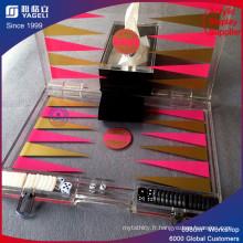 Boîte en carton en acrylique avec charnière