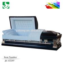 cercueil en bois sépulture de couvercle plat Raccord JS-ST197