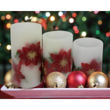 Hot Verkauf Mode flammenlose beweglichen Docht LED-Kerzen