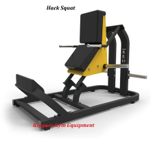 Hammer Strength Plate Loaded Hack Squat Machine