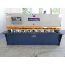 QC11Y-6 * 3200 hydraulische CNC-Metallplatte 6mm Guillotine-Schermaschine