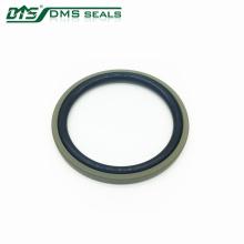 Bronze PTFE bidirektionale Dichtung Glyd Ring für Hydraulikzylinder Abdichtung DPT