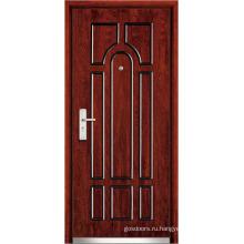 Стальные деревянные передние двери (WX-SW-103)