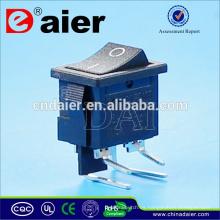 Interruptor oscilante eléctrico con 4 piezas de esquina