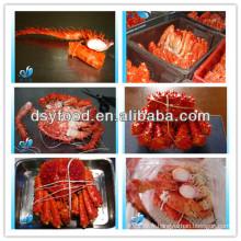 Crabe roi glacé