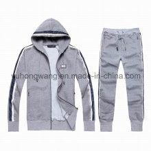 Polo de los hombres modificados para requisitos particulares del algodón, suéter, juego de los deportes de Hoody