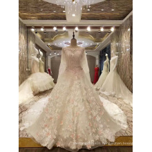 New Arrival 2017 Top Princess Marriage Wedding Dresses with Shawl