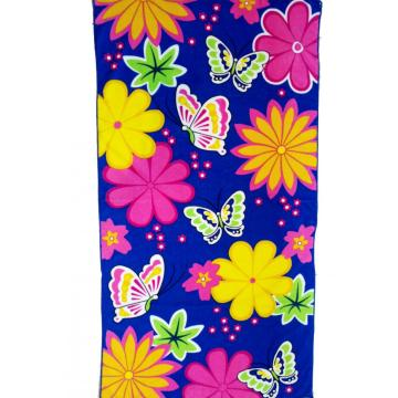 Floral Microfiber Strandtuch Reactive Print Tuch
