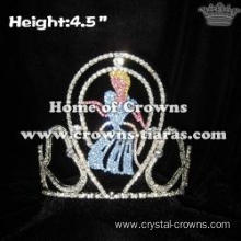 Gorgeous Cinderella Crystal Crowns For Pageant