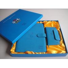 2015 neue Design Hardcover Notebook mit Box für Unternehmen Geschenk