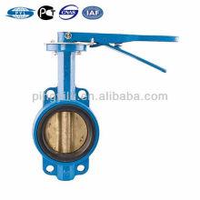 Feito em China Russo padrão ferro fundido PTFE assento borboleta válvula D71X-10