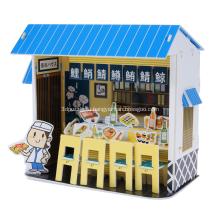 Головоломка 3D суши-бар