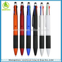 multicolor pen multi function ballpoint pen touch stylus and 3 color ink