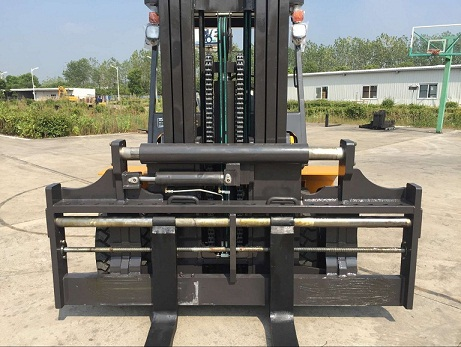7ton diesel forklift with side shifter