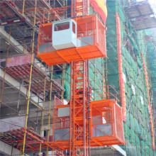 Sc200 / 200 Construcción de doble jaula Maquinaria de construcción de montacargas de pasajeros