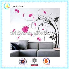 PVC custom sticker/wall sticker /decorative sticker for home decoration