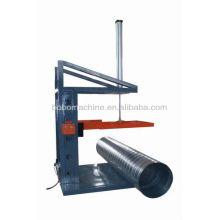 Machine for duct fabrication