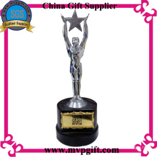 Customer Metal Trophy with 3D Engraving