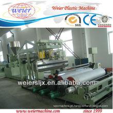 Máquina para fabricação de folha de plástico TPU