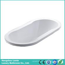 Factory Cheap Price Ellipse Acrylic Built-in Bathtub (LT-16P)